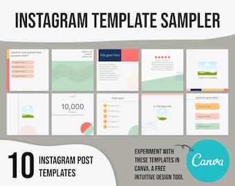 Instagram template minimalist, instagram template bold, social media template minimalist, social media templates colorful, ig templates red
