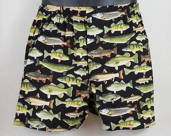 FISH cotton boxers