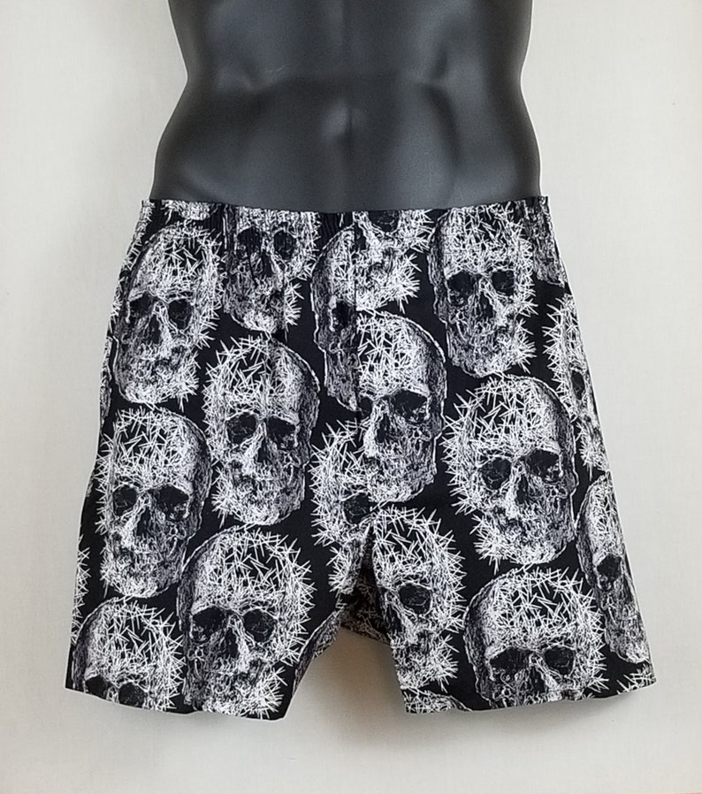 FRACTURED SKULL cotton boxers image 0
