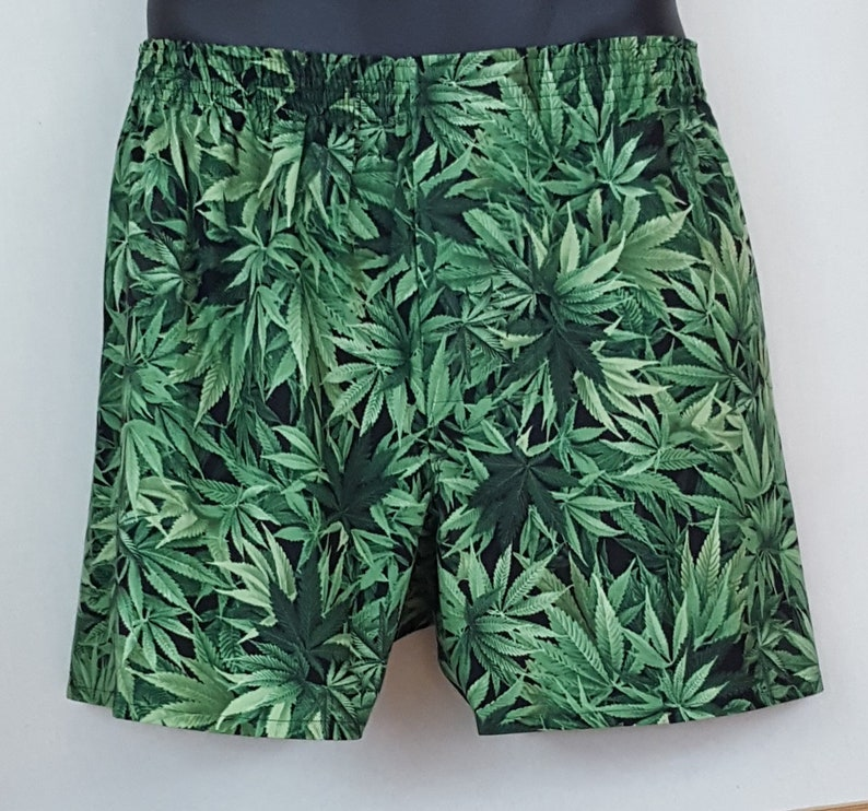 MARIJUANA cotton boxers image 0