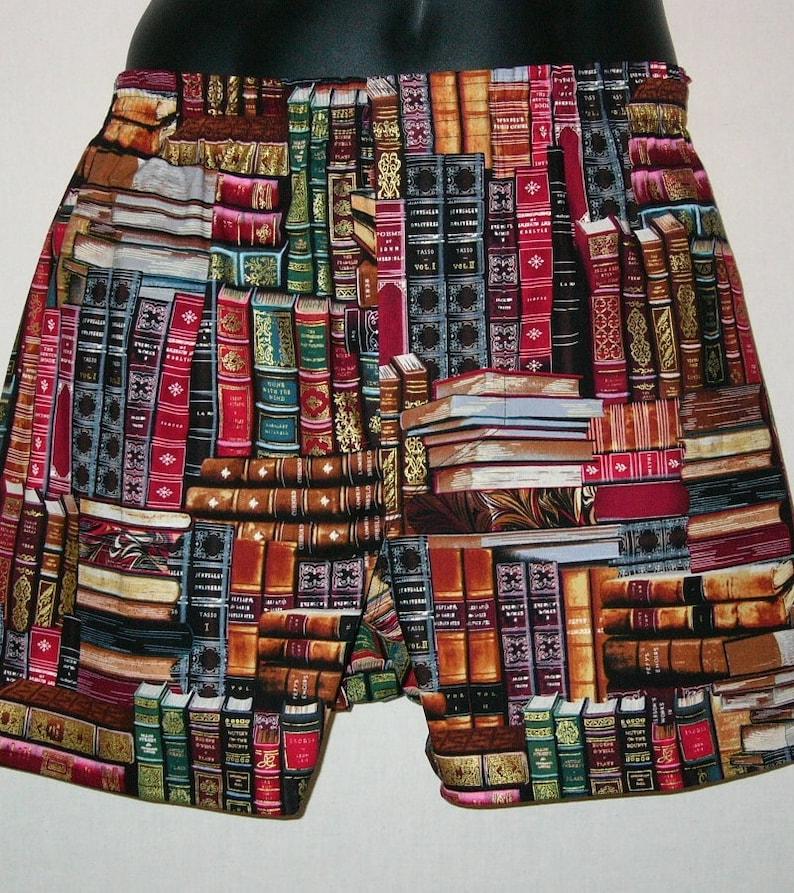 BOOKS cotton boxers SMARTYPANTS image 0