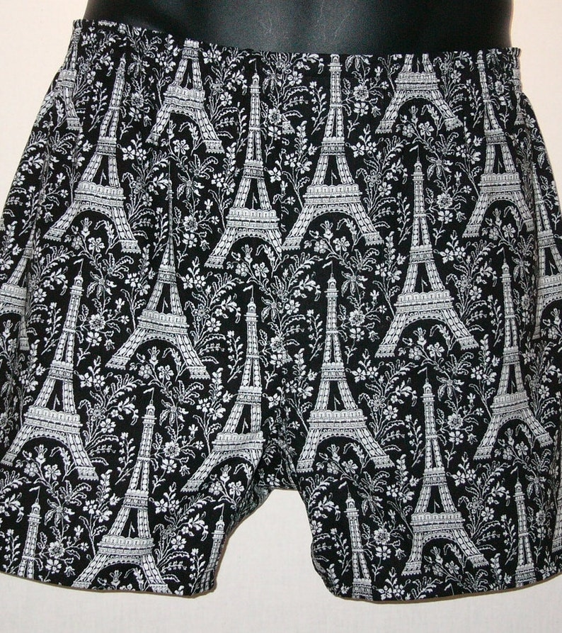 EIFFEL TOWER cotton boxers image 0