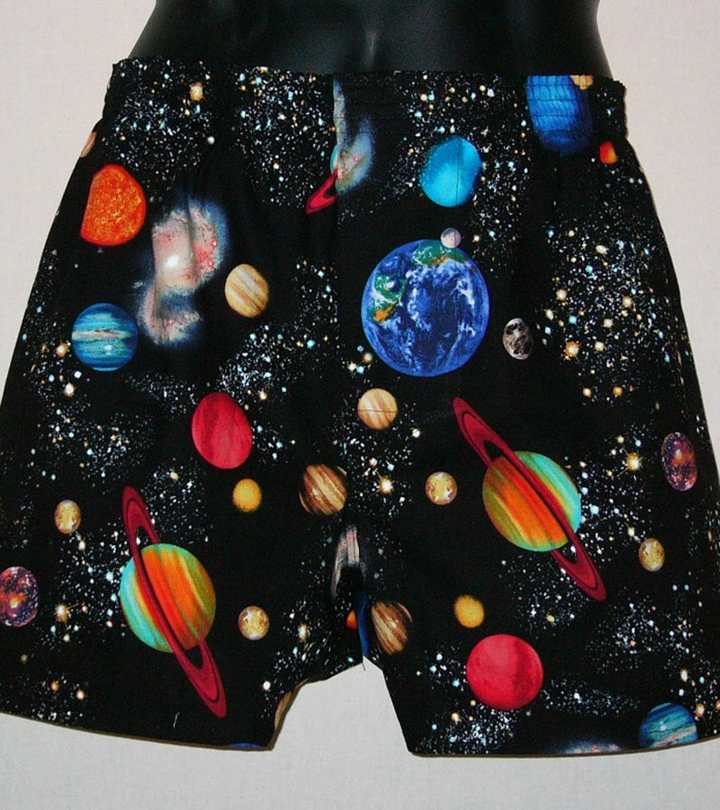 PLANETS cotton boxers image 0