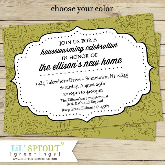 picture relating to Printable Housewarming Card titled Housewarming Invitation, Going Announcement, Printable