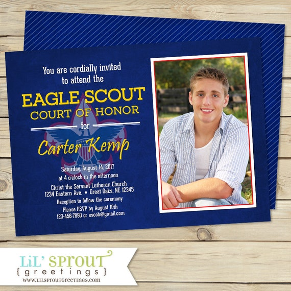 Eagle Scout Invitation Court Of Honor