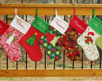 christmas stocking patterns christmas stocking sewing pattern downloadable stocking pattern 2 sizes 2 styles