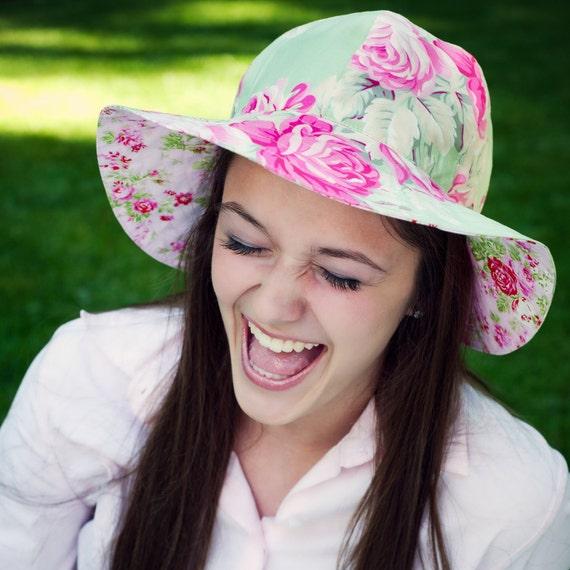 Womens Sun Hat Pattern Sewing Pattern Womens Hat Pattern  8fae8ce0fab