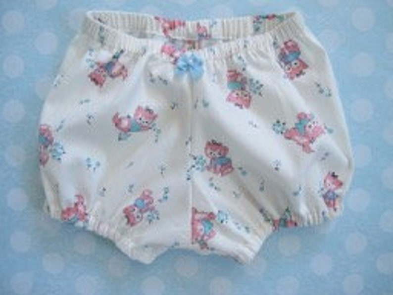 Easy Bloomers and Pantaloons Pattern for Baby Toddler and image 0