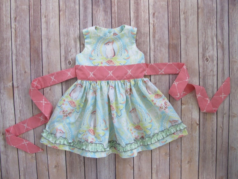 Girls Dress Pattern  Perfect Party Dress  Classic Girls image 0
