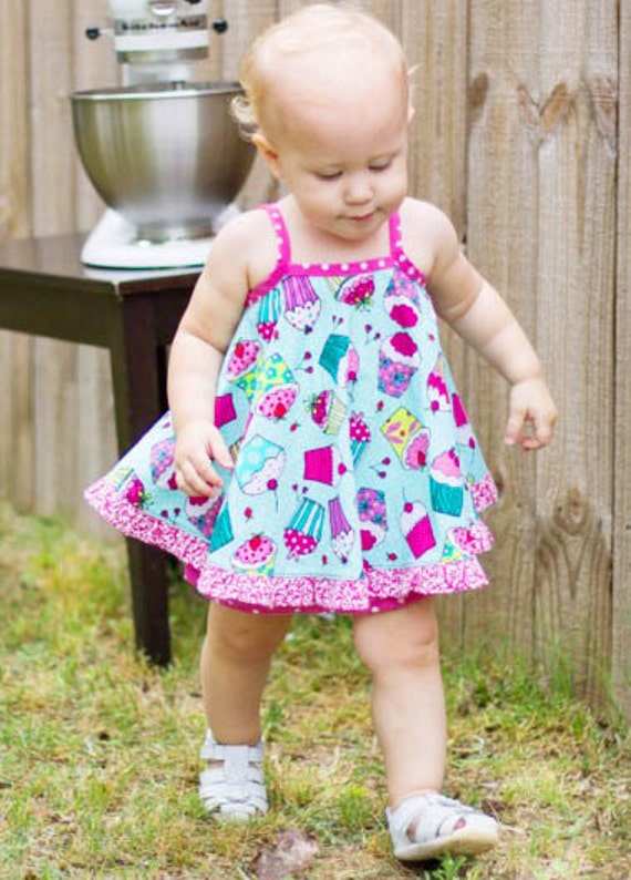 Baby Girl Sewing Pattern Vintage Style Baby Dress Pattern Etsy