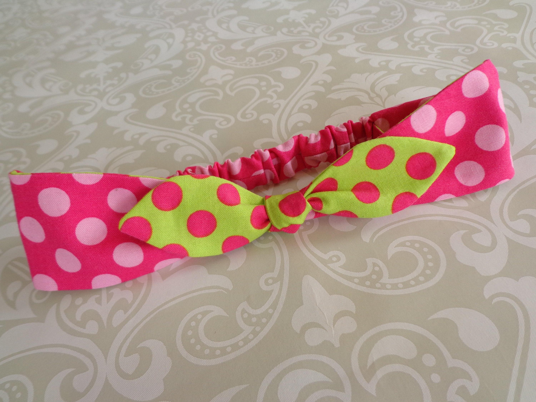Baby Headband Sewing Pattern Newborn To Adult Fabric