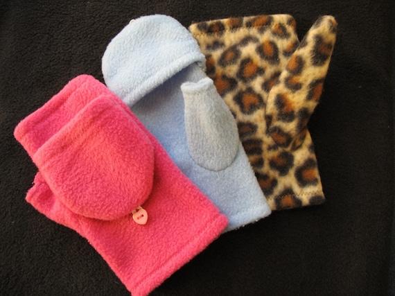 Fingerless Glove Pattern Convertible Mittens Sewing