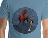 Surreal Vegetarian T-Shirt, Lobster Revenge | Victorian Design Unisex Shirt, Animal Rights, Nightmare, Ocean, Underwater