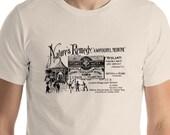 Retro Advertising Shirt: Nature's Remedy | Atlantis Mineral Water | Patent Medicine, Quackery Advertising T-Shirt