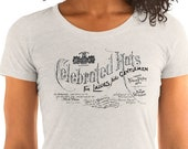 Ladies | Celebrated Hats | Victorian Advertising T-Shirt