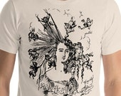 """Hairstyle T-Shirt: Edwardian """"Arranging the Hair"""" Unisex Shirt 