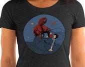 Ladies | Lobster Revenge | Victorian Surreal Vegetarian T-Shirt