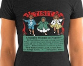 Ladies | A Remedy For Drunkenness | Tisit |  Edwardian Temperance Patent Medicine T-Shirt