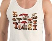 Tank | Poisonous Fungi & Mushrooms | Edwardian Botanical Illustration Unisex Tank Top