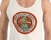 Tank | Socialist Party Unisex Tank Top | Workers of the World Unite | Retro Edwardian Socialism