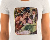 Ladies | Immoral and Outcast | Edwardian Drinking Woman T-Shirt