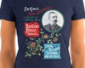 Ladies | Dr. King's New Discovery | Victorian Medical Advertising | Shirt | Patent Medicine | Electric Bitters