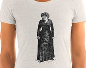 Ladies | Angry Agnes | Victorian Woman T-Shirt