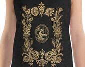 Tank | Ladies' Art Union of Needlework | Victorian Floral Unisex Tank