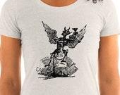 Ladies | Vintage Bottle Imp | Gin Demon | Alcohol, Drinking T-Shirt