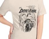Satanic Shirt, The Devil's Bride | Edwardian Sensationalism T-Shirt, Devil, Demon, Book Cover Gift