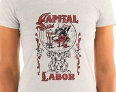 Ladies | Capital and Labor | Edwardian Socialism | Ladies' T-shirt