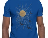 Unisex | Land of the Midnight Sun | Sun & Birds | T-Shirt