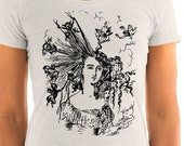 "Ladies | Edwardian ""Arranging the Hair"" T-Shirt 