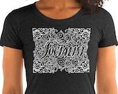 Socialist T-Shirt: Art Nouveau Style Socialist Graphic | Ladies Shirt Socialist Gift Socialism Leftist Anti-Capitalist