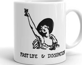 Fast Life & Dissipation Mug | 1920s Drinking