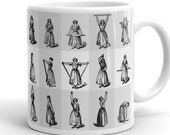 Calisthenic Exercises | Victorian Physical Culture Mug