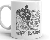 Model New Woman | Victorian Lady Cyclist Mug