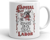 Mug | Capital and Labor | Edwardian Socialism