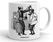 Visiting the Phrenologist | Victorian Phrenology | Mug