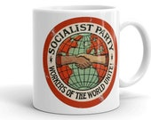 Mug | Socialist Party | Workers of the World Unite | Retro Edwardian Socialism