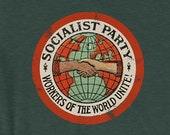 Unisex | Socialist Party T-Shirt | Workers of the World Unite | Retro Edwardian Socialism