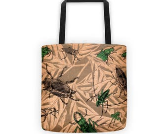 Tote Bag | American Insects | Victorian Entomology