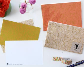 Pack of 12 assorted postcards - Palmiers print