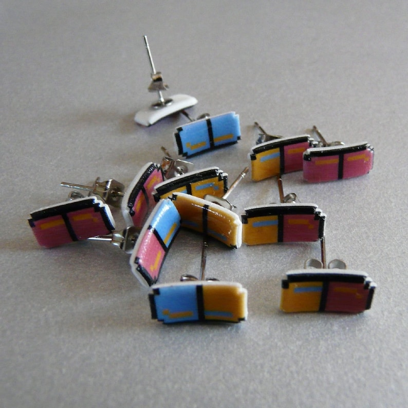 beyond the valley of the pixels  dr. mario earrings image 0