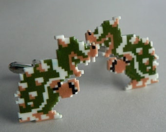bowser - super mario cufflinks