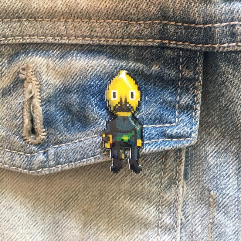 unacceptable  adventure time earl of lemongrab pin image 0