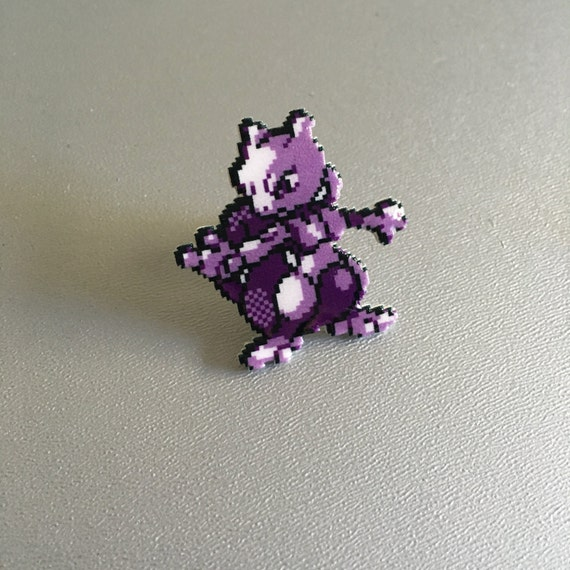Hat Tack Pin Vintage Lapel Pin Meoweth Pokemon Pin