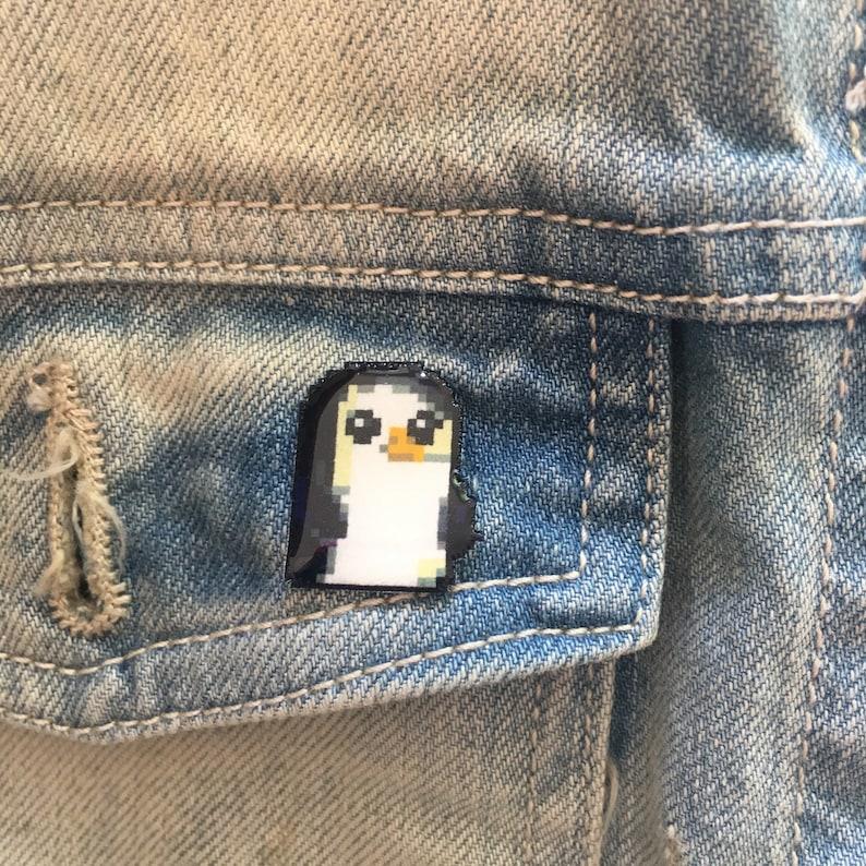 adventure time Gunther pin // Nintendo Hat Pin // Tie Tack // image 0