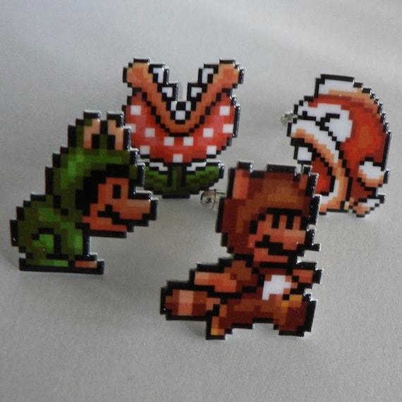 crambone super mario 3 frog mario barrettes