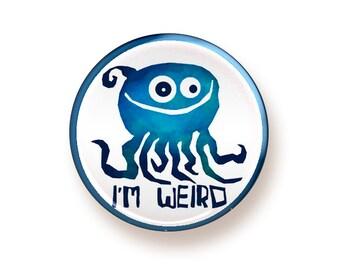 I'm Weird - button